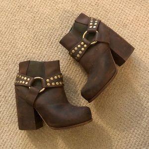 JEFFREY CAMPBELL Winona LTD bootie leather 6